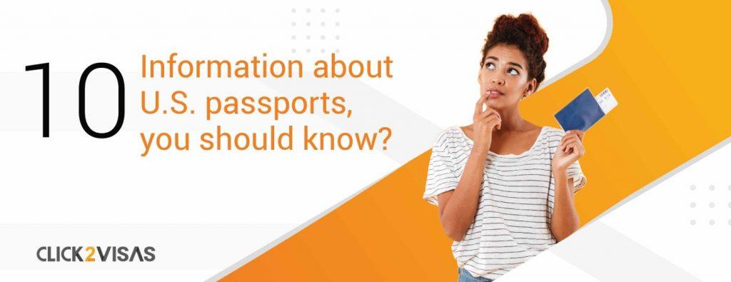10 Information about U.S. passports