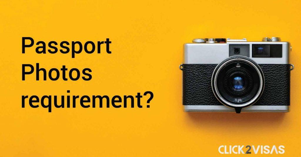 U.S Passport Photos requirement